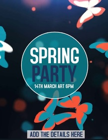 spring flyers ,event flyer
