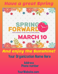 Spring Forward to Daylight Savings Time