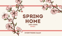 Spring Home Templates Label