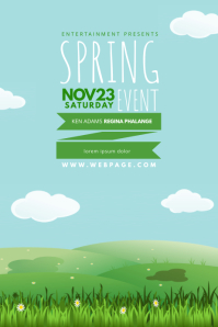 Spring Kids Event Flyer Template