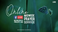 Spring Online Prayer Digital na Display (16:9) template