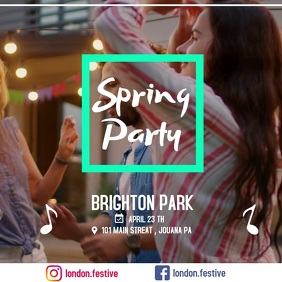 spring party app
