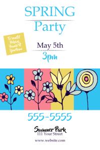 Spring PartyPoster