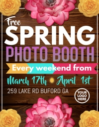 Spring Photo Booth
