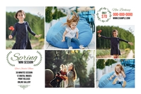 Spring Photography Mini Session Tatak template