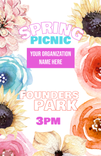 Spring Picnic Event poster
