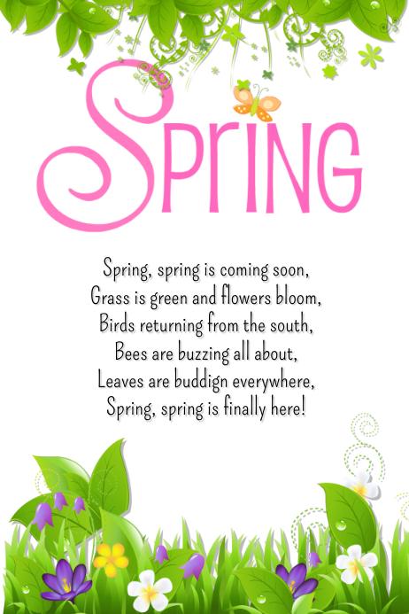 Spring poem