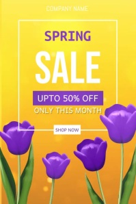 Spring Retail Video, Spring Sale Video, Spring Event Video