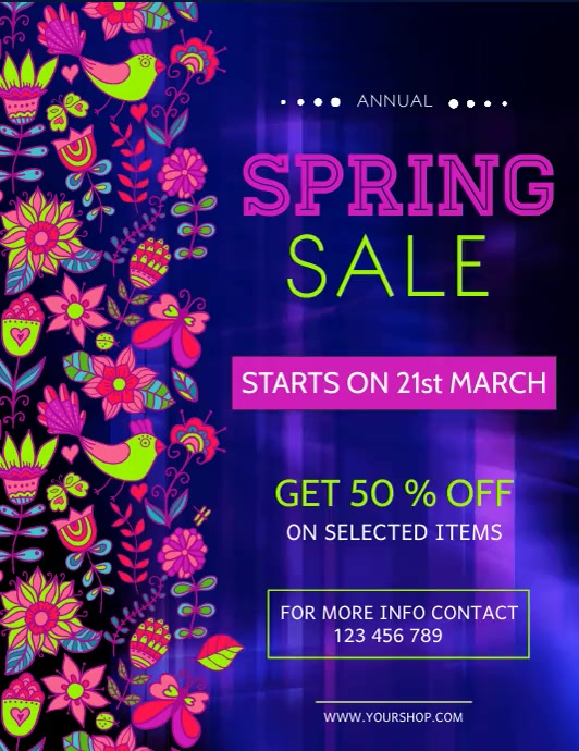 Spring Retail Video Spring Sale Video, Spring Video