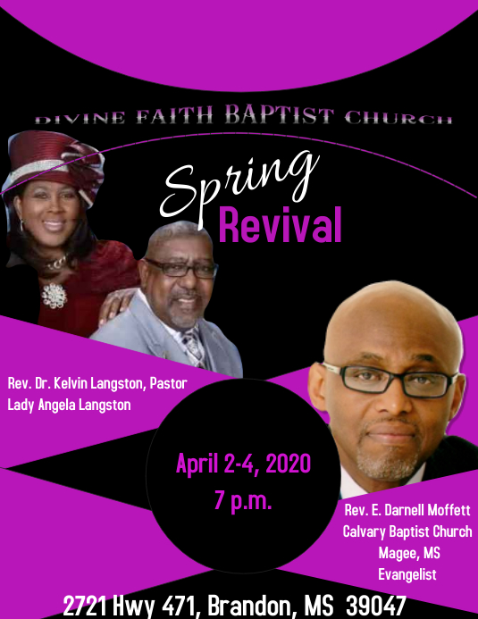 Spring Revival Template Postermywall