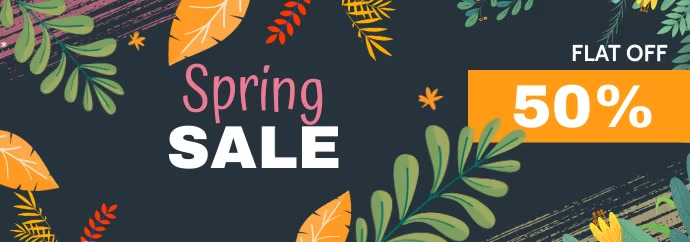 spring sale banner,summer sale banner template