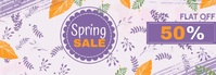 spring sale banner,summer sale banner Tumblr 横幅 template