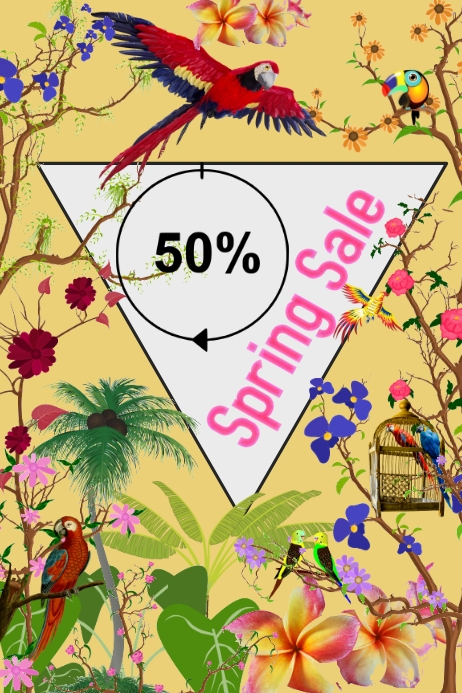Spring Sale/Beauty Product/Fashion poster