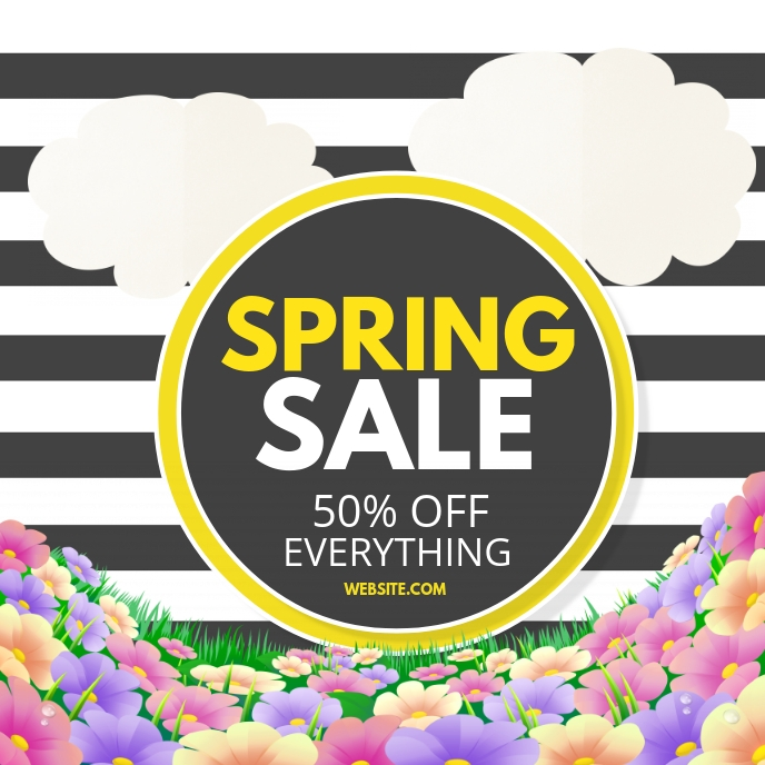 Spring sale