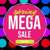 Spring Sale Pos Instagram template