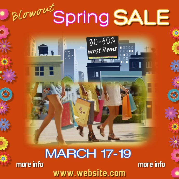 Spring Sale Digital Ad