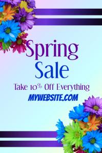 Spring Sale Event Flyer