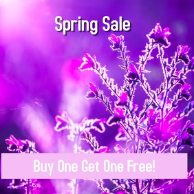 Spring Sale Event Template