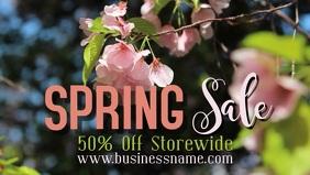 Spring Sale Event Video Promo