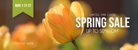 Spring Sale Facebook Cover template