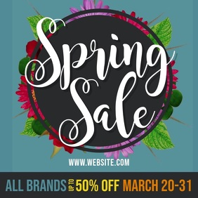 Spring Sale Fashion Advertising Video