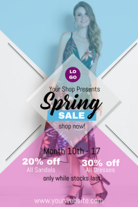 Spring Sale Flyer Event Template