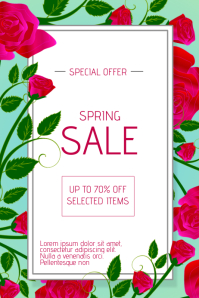 890 customizable design templates for spring flyer postermywall