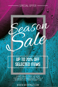 Customizable Design Templates for Spring Sale Flyer | PosterMyWall