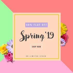 Spring sale geometric