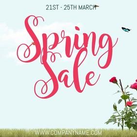 Spring Sale Instagram Template