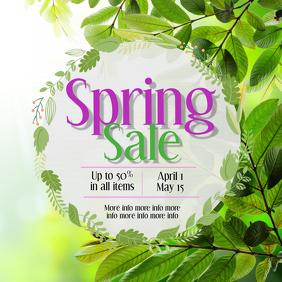 Spring Sale post