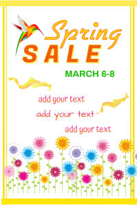 Spring Sale Poster
