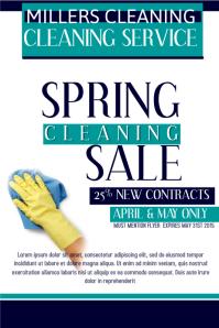 Spring Sale Plakkaat template