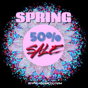 SPRING SALE TEMPLATE COLORFUL