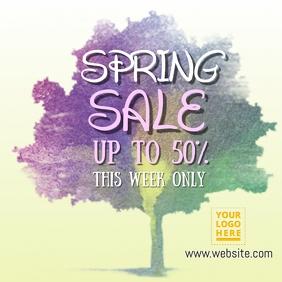 Spring Sale Template