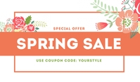 Spring Sale Templates Label
