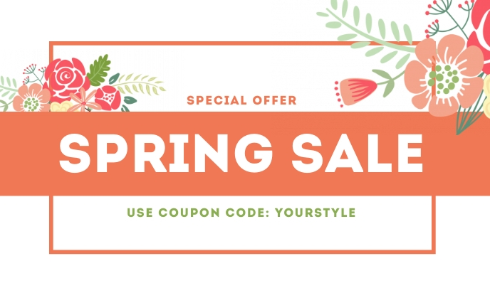 Spring Sale Templates Tag