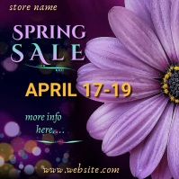 Spring Sale Video Ad