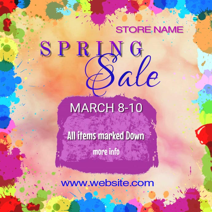 Spring Sale Video