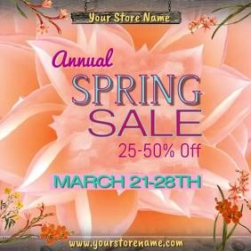 Spring Sale Video
