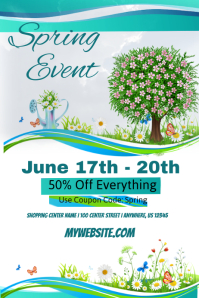 Spring Sales Event Template