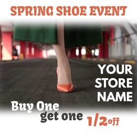 Spring Shoe Sale Event