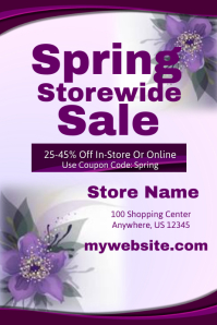 Spring Storewide Sales Event Template