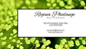 spring style business card template Visitenkarte