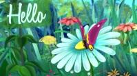 Spring Template Digitale Vertoning (16:9)