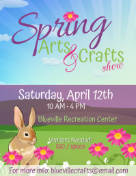 Springs Arts & Crafts Flyer - 1