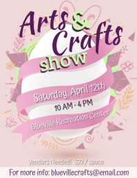 Springs Arts & Crafts Flyer - 3 template