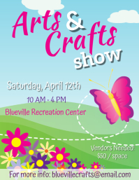 Springs Arts & Crafts Flyer - 4