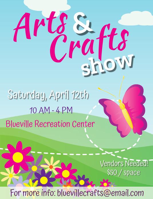 Springs Arts & Crafts Flyer - 4