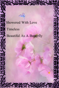 Springtime Love & Joy Poster Pinterest na Graphic template